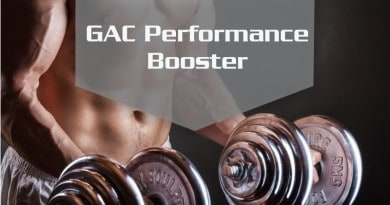 GAC Performance Booster: Glutamine, Arginine and Carnitine Injections