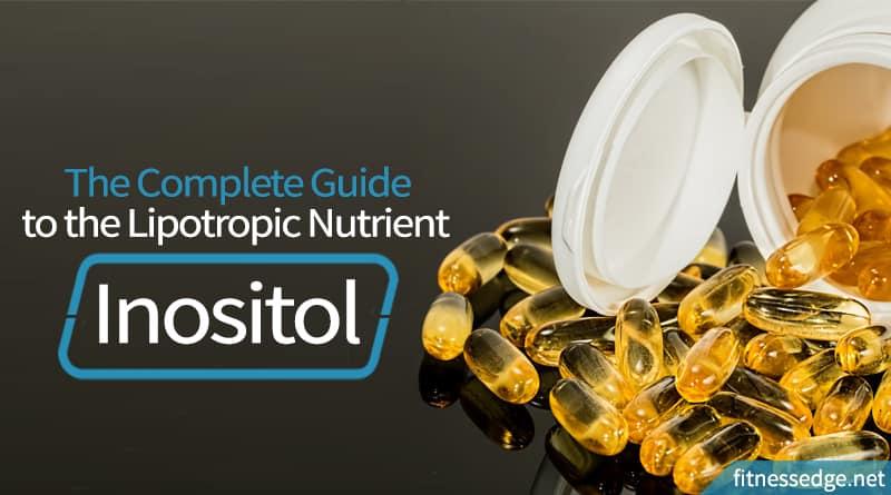 spilled bottle of inositol pills