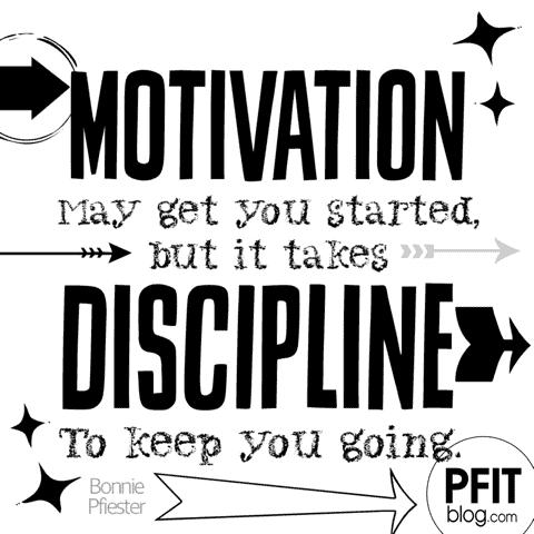 Weight Loss Motivation - Discipline