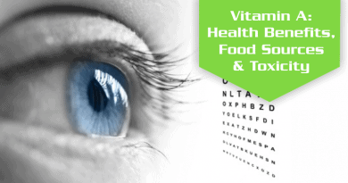 Vitamin A Benefits, Foods Sources & Toxicity