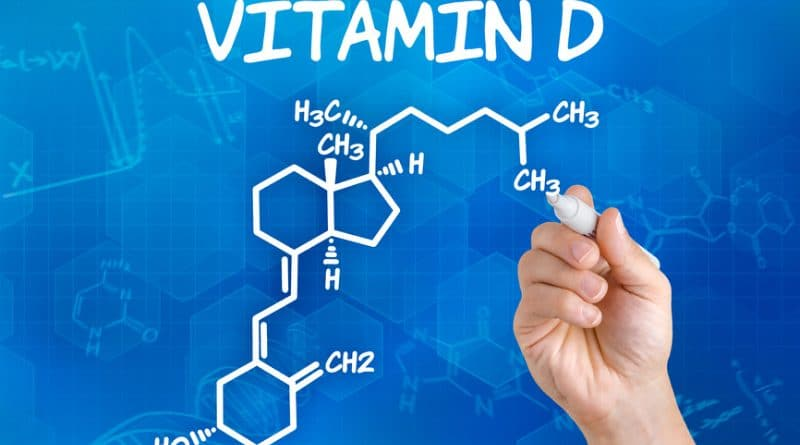 hand-with-pen-drawing-the-chemical-formula-of-vitamin-d