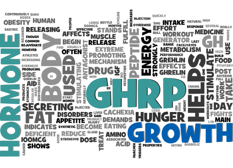 GHRP Hormone Benefits Cloud